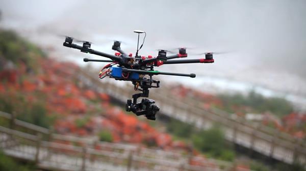 Droni per reflex: DJI S900