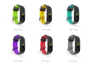 G16 smartband - regalo di coppia per san valentino - colori