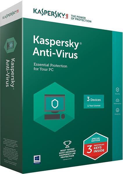 Miglior antivirus: Kaspersky Anti-Virus 2018