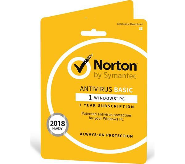 Miglior antivirus: Norton AntiVirus Basic 2018