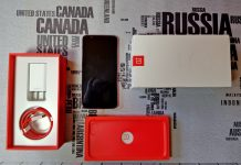 Recensione OnePlus 5T Lava Red scatola