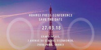 huawei presentazione huawei p20 27 marzo