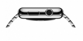 pulire digital crown di apple watch