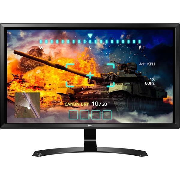 Migliori schermi 4K: LG 27UD58-B