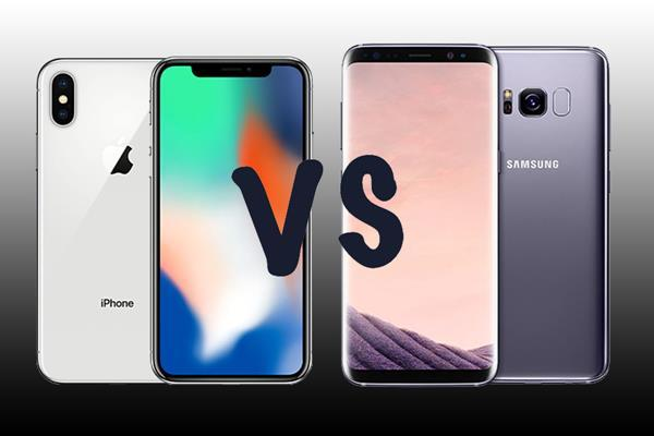 Confronto iPhone X vs Galaxy S9