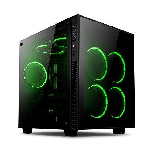 Anidees AI-Crystal-Cube-RGB Cubo Case per PC ATX