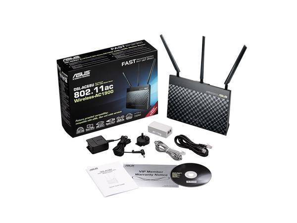 Migliori router WiFi: Asus DSL-AC68U