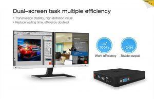 Beelink BT3 Pro - dual screen
