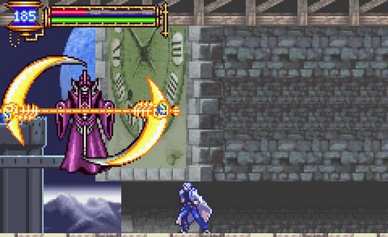 Castlevania Aria of Sorrow - migliori giochi per gameboy advance