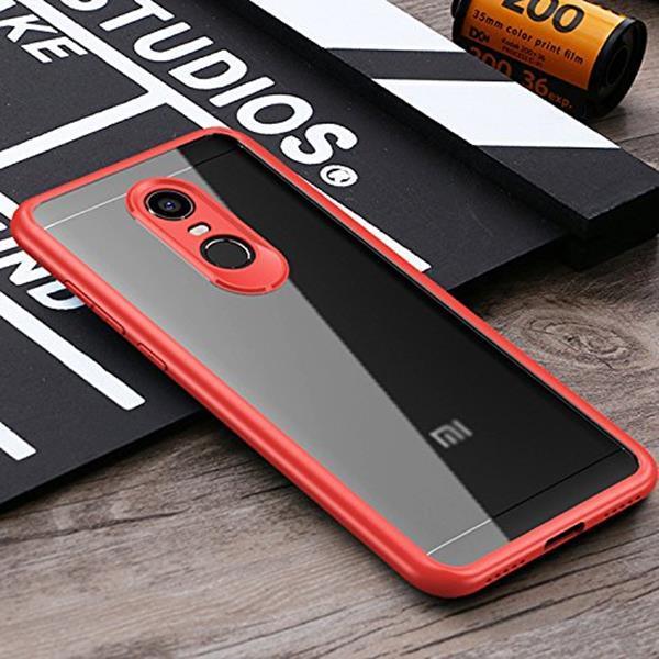 Migliori cover per Xiaomi Redmi 5 Plus: Cover Windcase Lightweight Hybrid Cristal