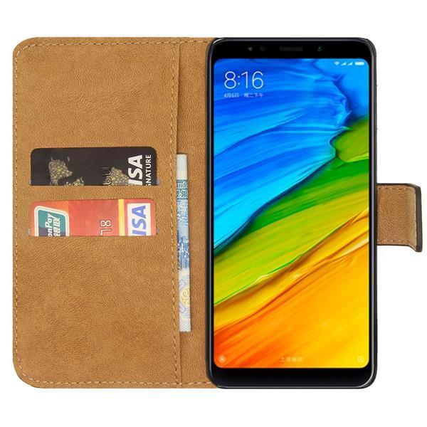 Migliori cover per Xiaomi Redmi 5 Plus: Custodia Ambaiyi in pelle