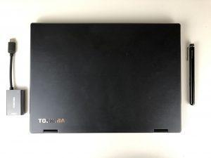 Toshiba Portege X20W-D dotazione