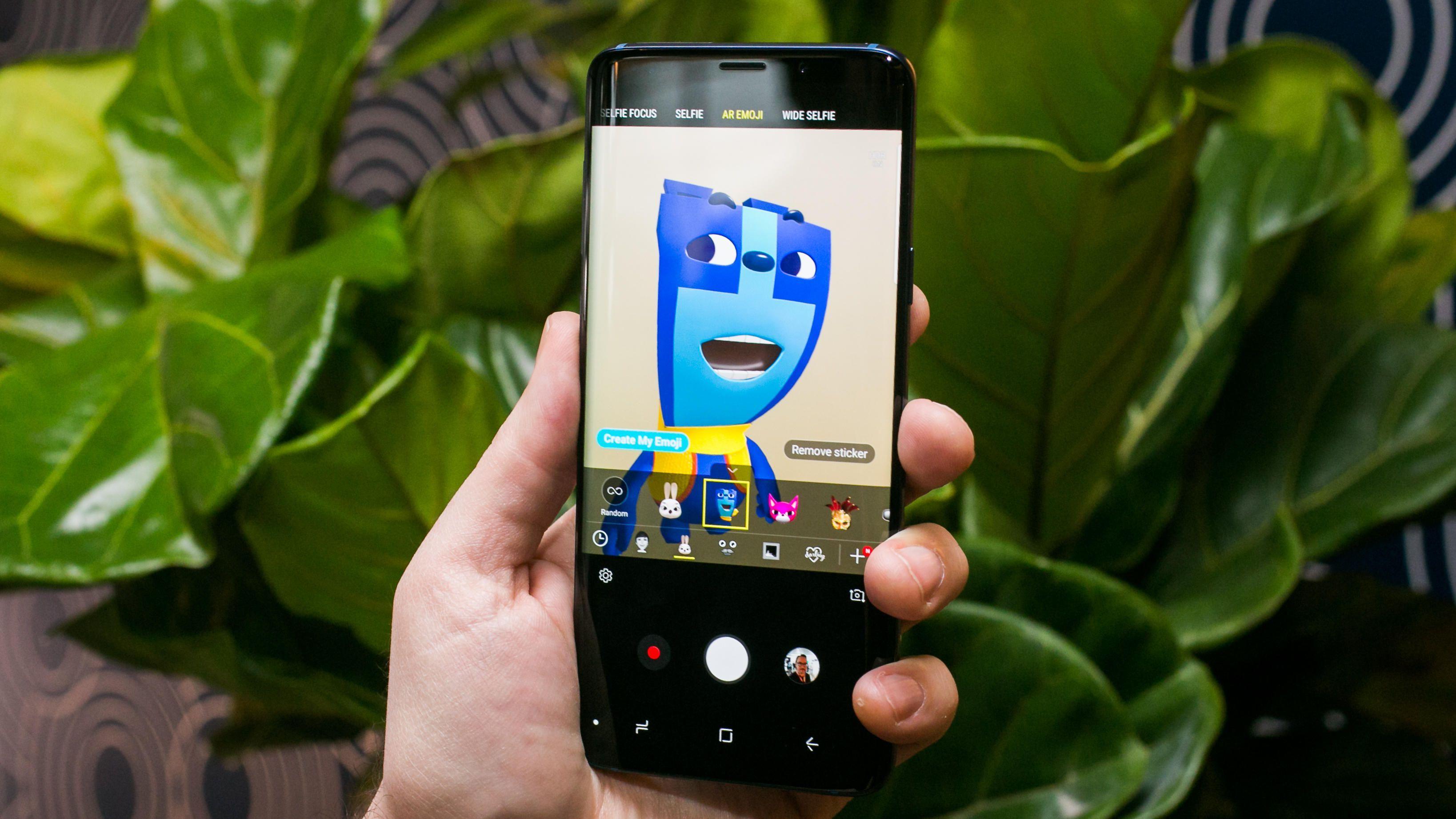 AREmoji Samsung Galaxy S9