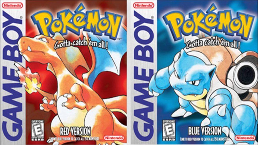 pokemon blu e rosso - migliori giochi per gameboy