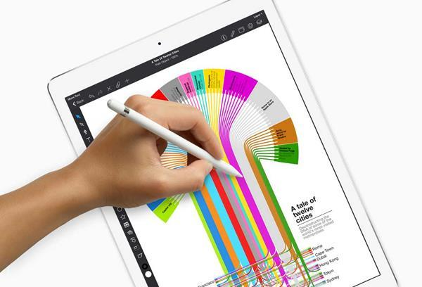 Recensione Apple iPad 2018: Apple Pencil