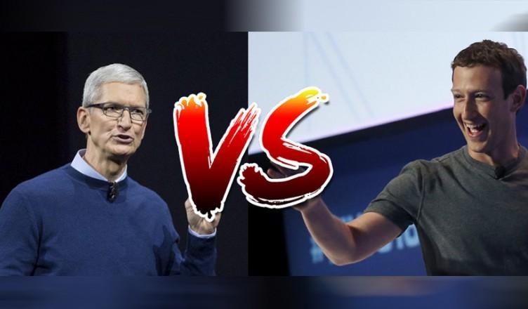 zuckerberg cook facebook apple