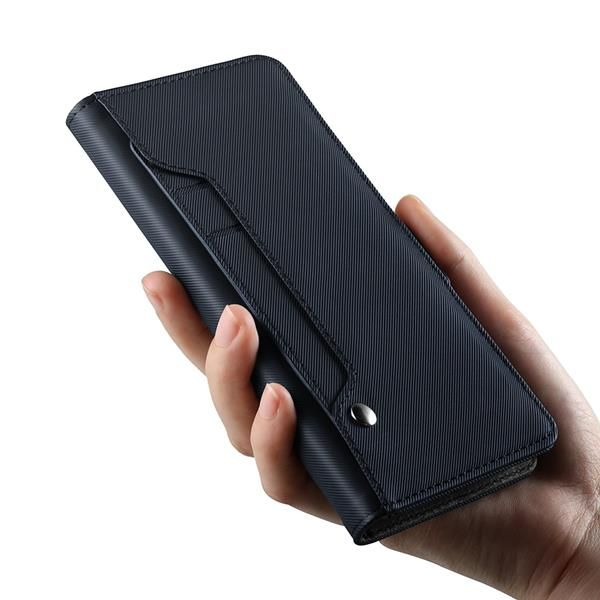 Migliori cover per OnePlus 6: Custodia Geemai in pelle con slot per schede rotante