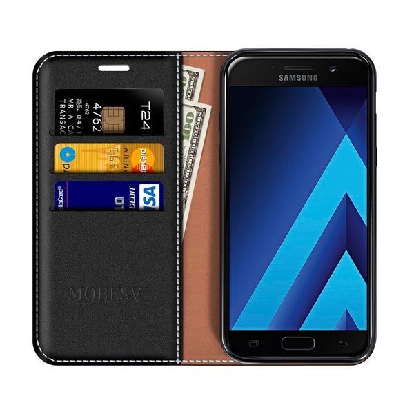 Migliori cover Galaxy A5 2017: Custodia Mobesv a portafoglio