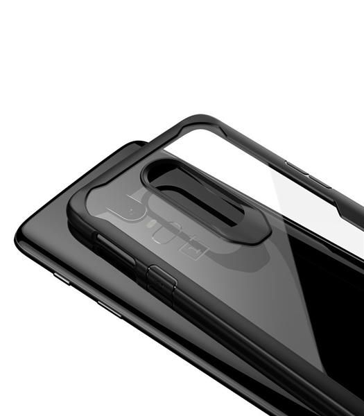 Migliori cover per OnePlus 6: Custodia Moonmini trasparente