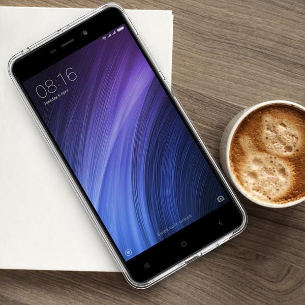 Cover Xiaomi RedMi 4A: Custodia iVoler in silicone trasparente