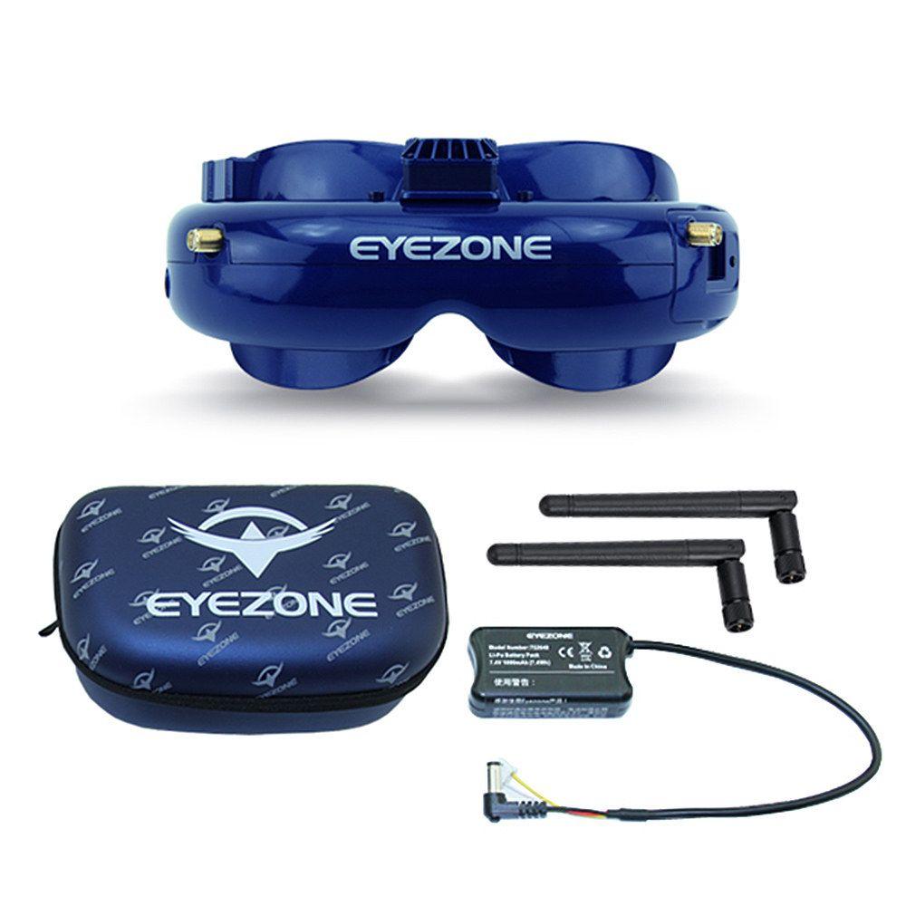 Visore EyeZone per droni da gara
