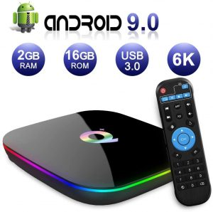 Q Plus Android 9.0 TV Box