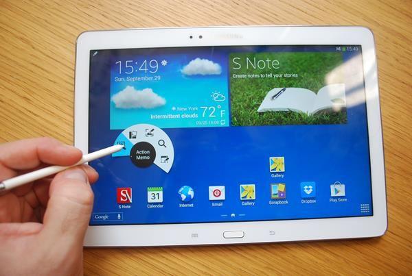Migliori tablet per studiare: Samsung GalaxyTab A con S Pen