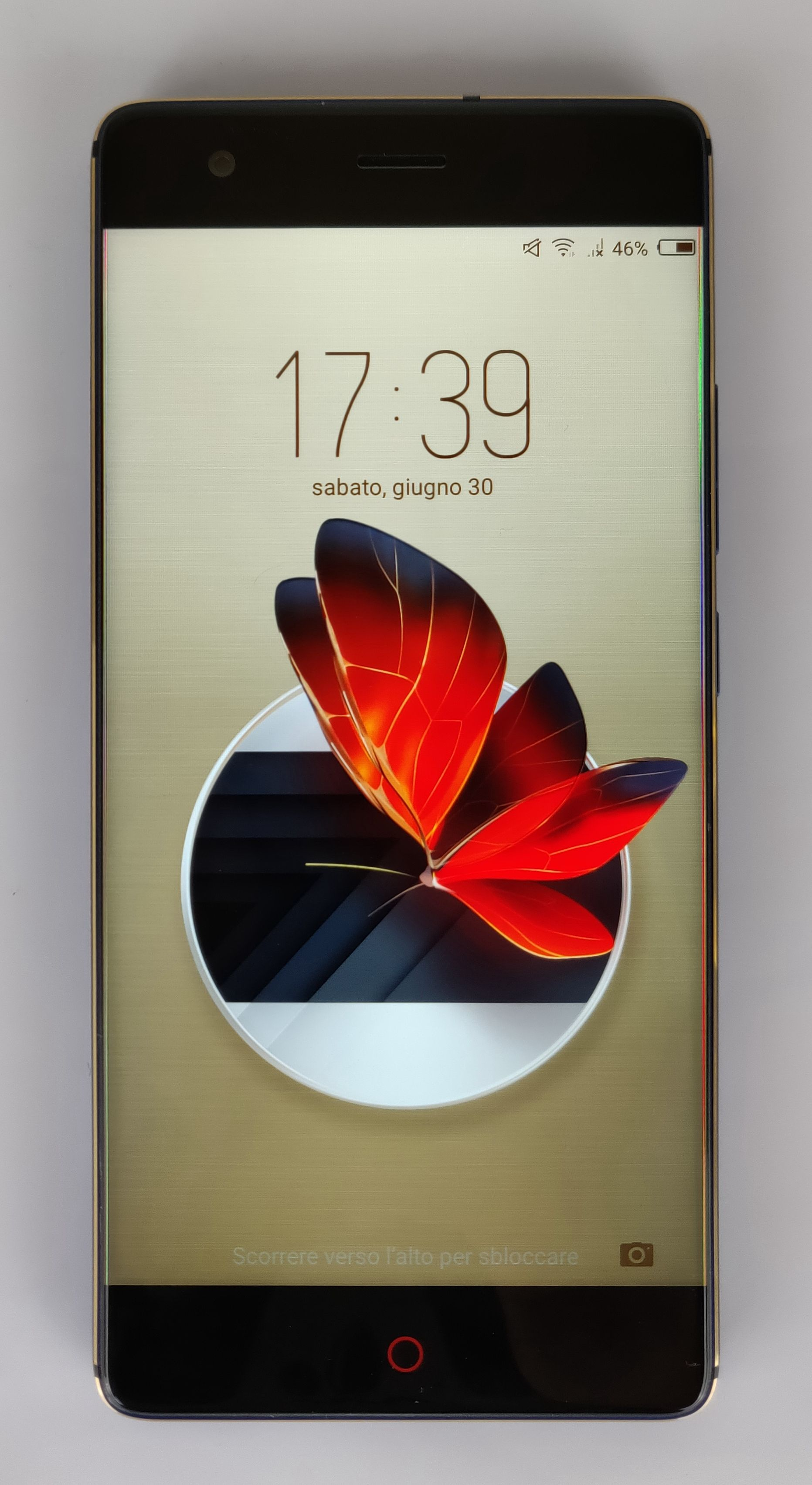 nubia z17 lite - display