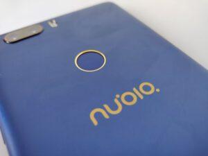nubia z17 lite - sensore