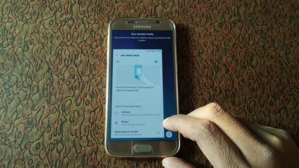 Consigli Galaxy S9: modalità One-Handed
