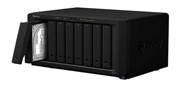 Migliori dispositivi NAS per archiviare dati: Synology DiskStation DS1817