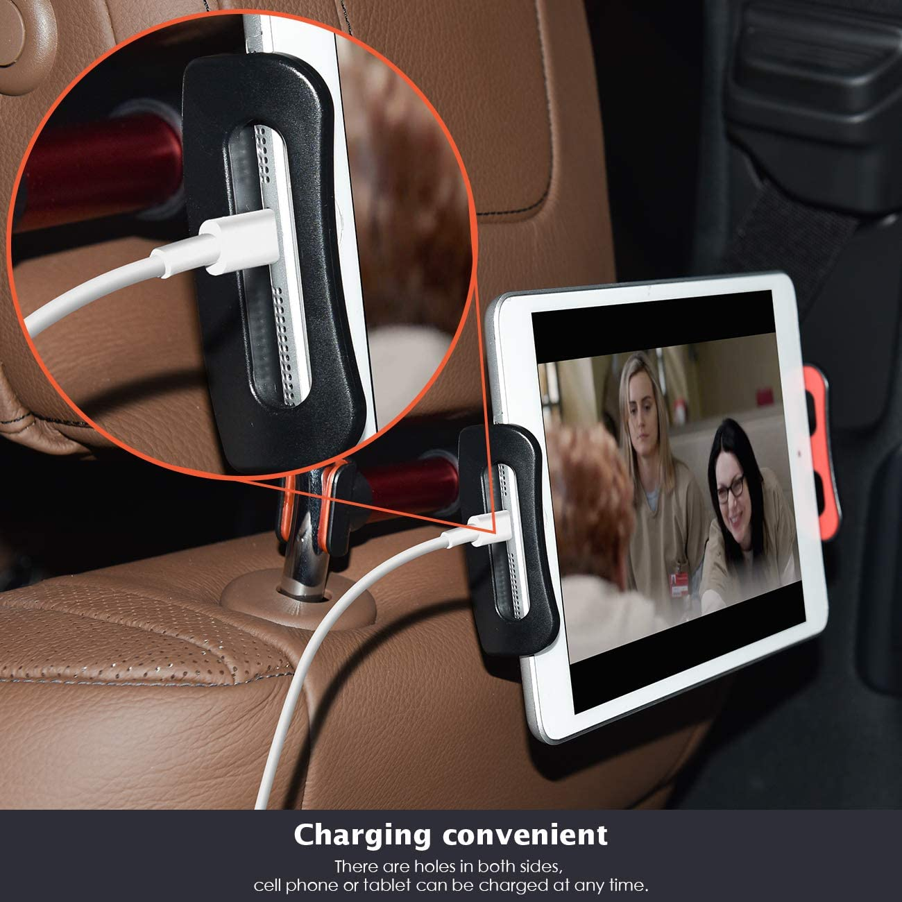 Il supporto per tablet da utilizzare in auto