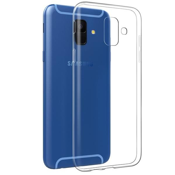 Migliori cover per Samsung Galaxy A6 2018: Custodia EasyAcc in silicone trasparente