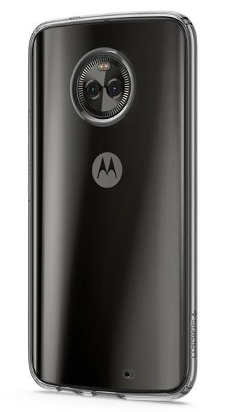Migliori cover Motorola Moto X4: Custodia Spigen in silicone Liquid Crystal