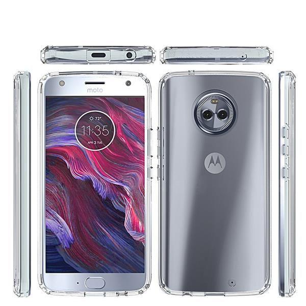 Migliori cover Motorola Moto X4: Custodia Sunguy rigida in TPU