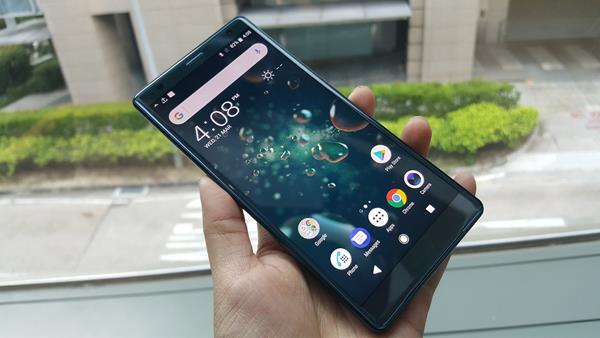 Migliori smartphone resistenti all'acqua: Sony Xperia XZ2