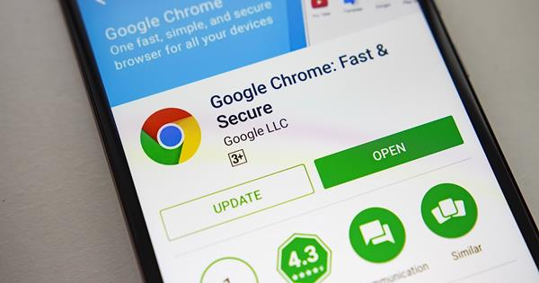 Migliori browser web per Android: Google Chrome