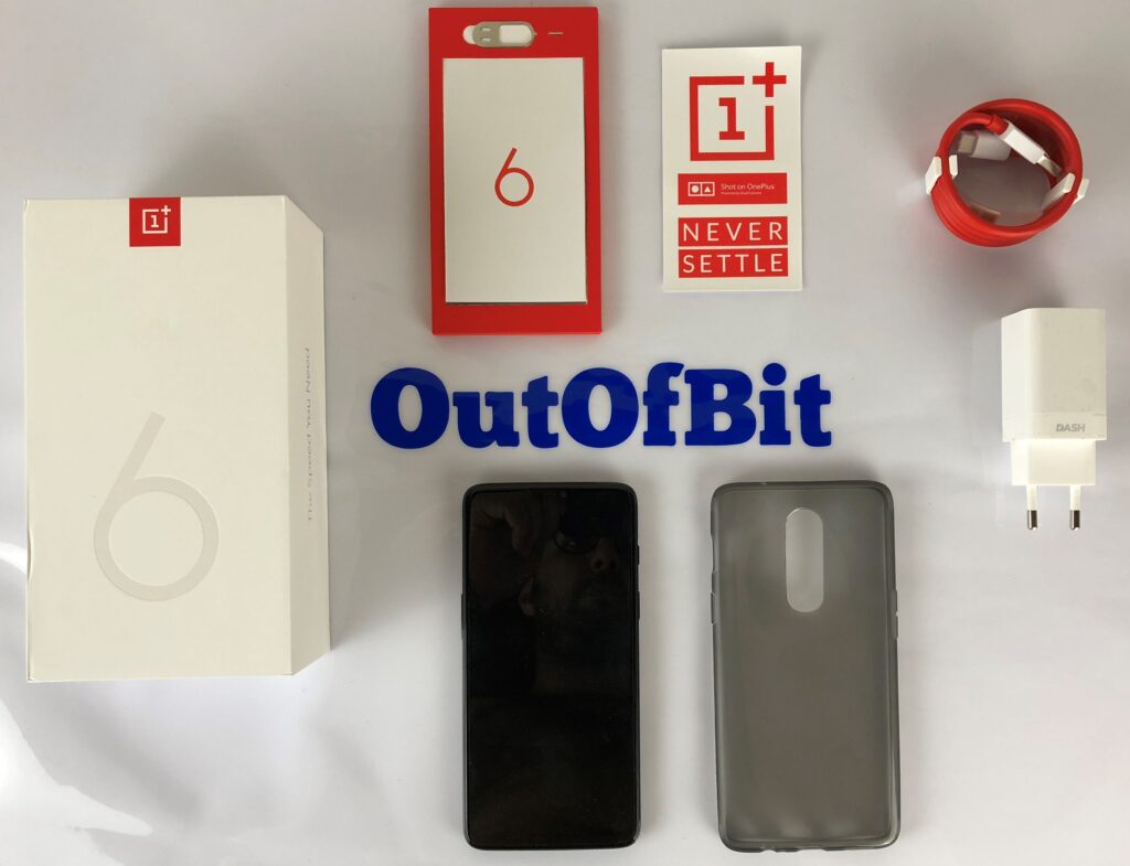 oneplus 6 - contenuto confezione - outofbit