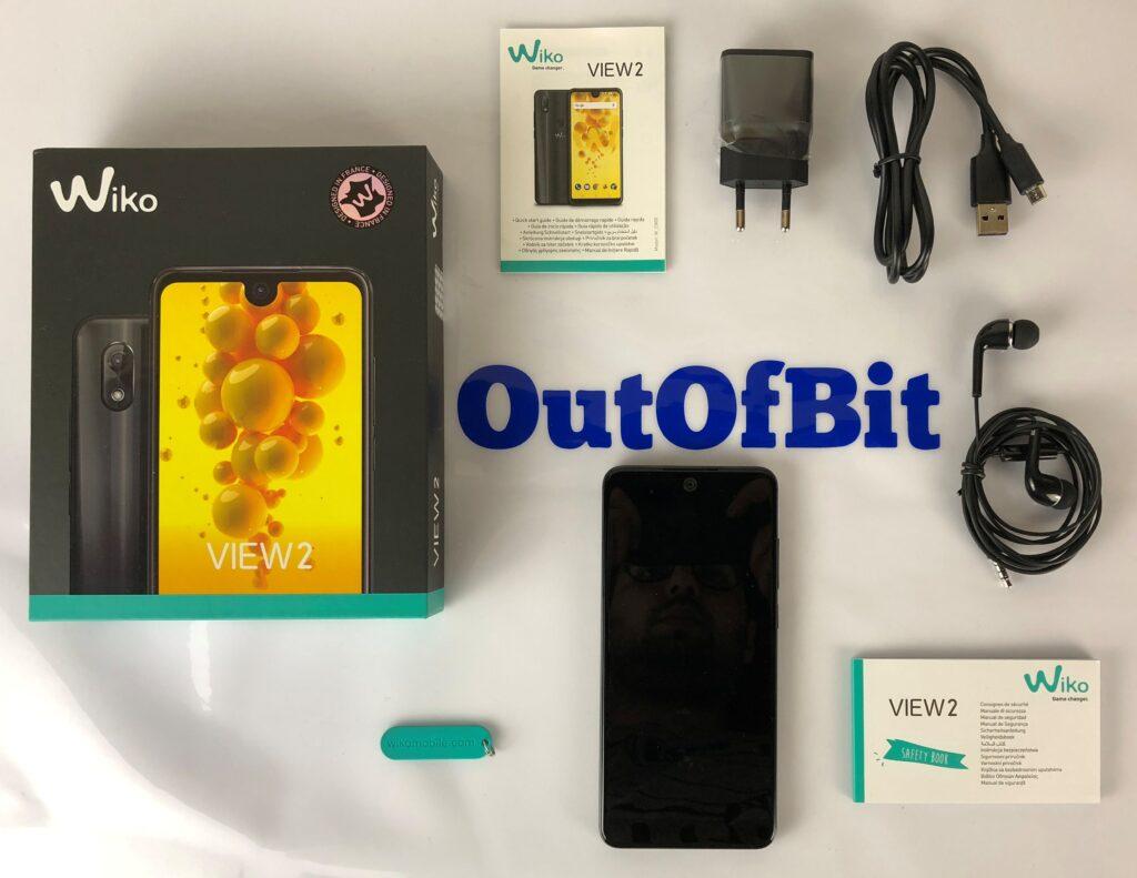 wiko view 2 - contenuto confezione