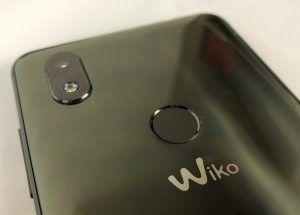wiko view 2 - sensore impronte e fotocamera