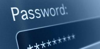 Sicurezza password online