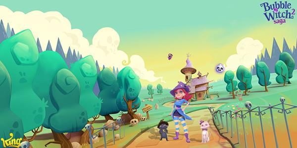 Migliori giochi gratis su Facebook: Bubble Witch Saga 2
