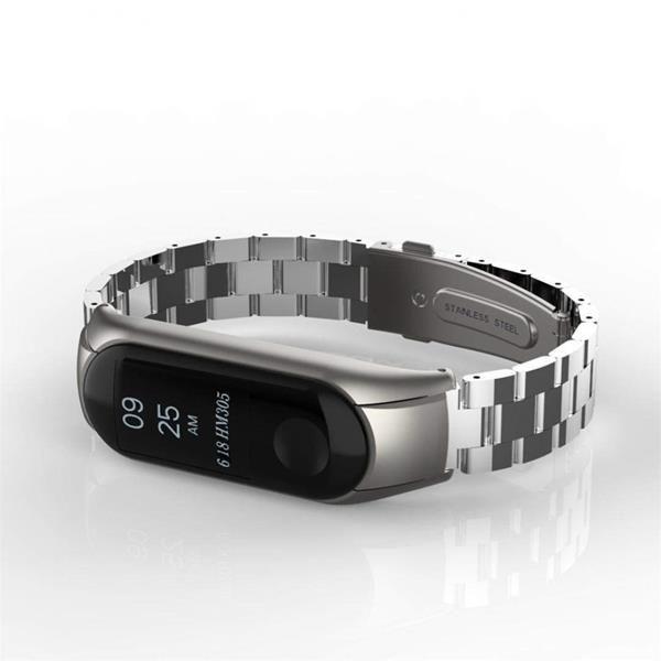 Cinturini Xiaomi Mi Band 3: Cinturino YUYOUG in acciaio Inox a maglie