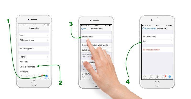 Come cambiare sfondo all'ipad