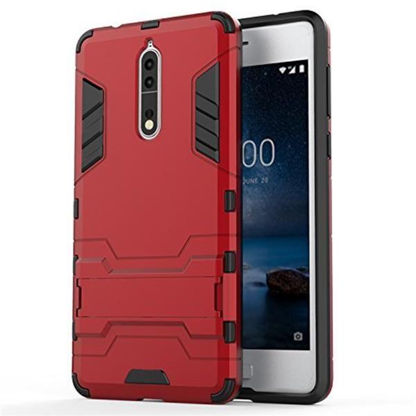 Cover Nokia 8: Custodia Apanphy in TPU doppio strato