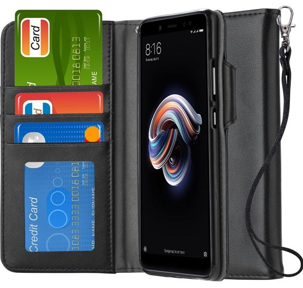 Migliori cover Xiaomi Redmi Note 5: Custodia Ferilinso in cuoio