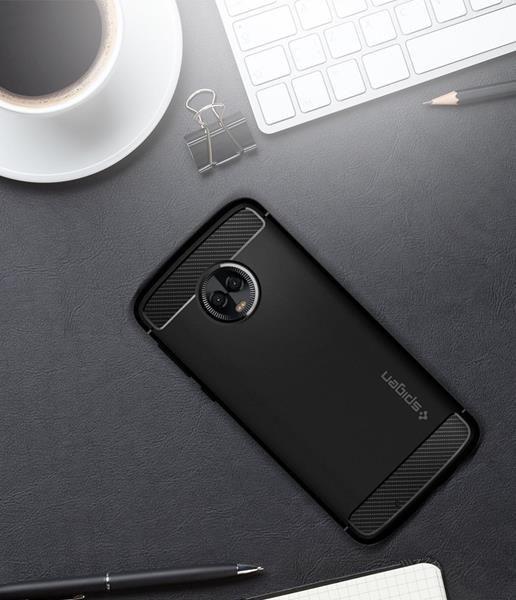 Migliori cover Motorola Moto G6: Custodia Spigen ammortizzata