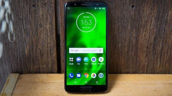 Hard Reset Motorola Moto G6