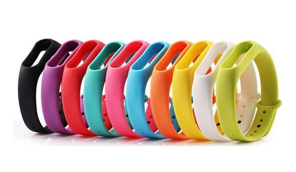 Cinturini Xiaomi Mi Band 3: Kit 10 pezzi BRone in silicone colorato