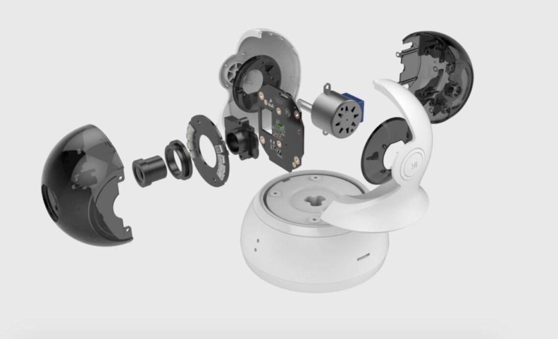 internal components yi dome camera 1080p